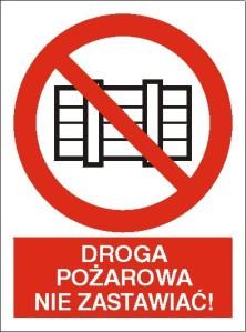 [211-03]_-_Droga_pozarowa._Nie_zastawiac!